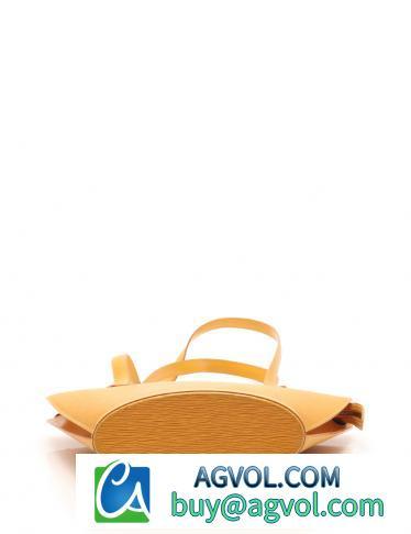 LOUIS VUITTON・バッグ・サンジャック ロングショルダー エピ ショルダーバッグ レザー タッシリイエロー