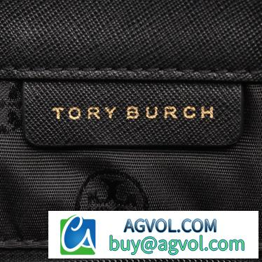 TORY BURCH・バッグ・EMERSON BUCKLE TOTE エマーソン トートバッグ レザー 黒