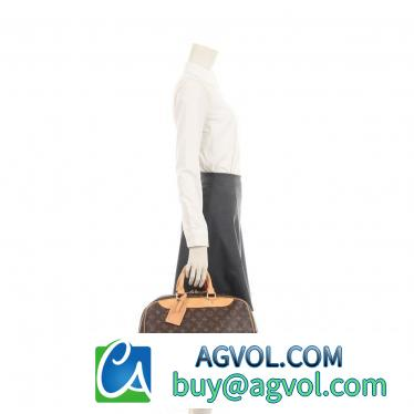 LOUIS VUITTON・バッグ・エヴァジオン モノグラム ボストンバッグ PVC レザー 茶色
