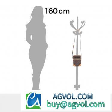 LOUIS VUITTON・バッグ・アマゾン モノグラム ショルダーバッグ PVC レザー ブラウン