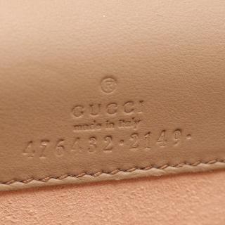 GUCCI・バッグ・ディオニュソス GGスプリーム スーパーミニバッグ チェーンショルダーバッグ PVC スエード ベージュ  ブラウン