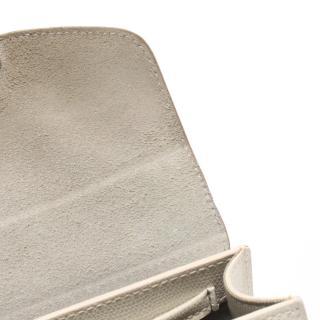 FURLA・バッグ・METROPOLIS MINI SHOULDER チェーンショルダーバッグ レザー グリッター アイボリー ゴールド