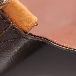 LOUIS VUITTON・バッグ・ミュゼット モノグラム ショルダーバッグ PVC レザー ブラウン