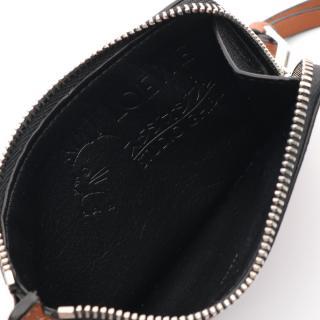 LOEWE・財布・小物・LOEWE × となりのトトロ まっくろくろすけ コインケース レザー ブラウン ブラック ホワイト