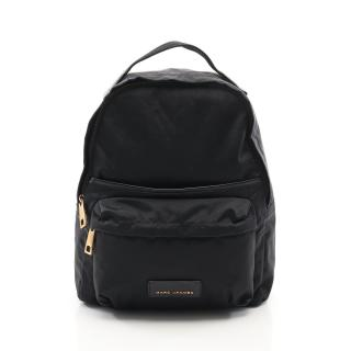MARC JACOBS・バッグ・NYLON LARGE BACKPACK バックパック リュックサック ナイロン レザー ブラック