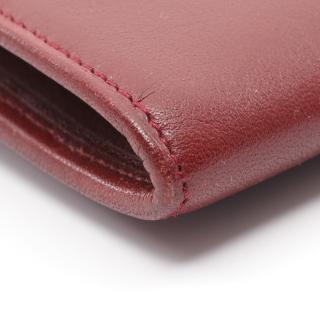 Cartier・財布・小物・マストライン 二つ折り長財布 レザー ボルドー がま口