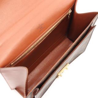 LOUIS VUITTON・バッグ・モンソー モノグラム ハンドバッグ PVC レザー ブラウン